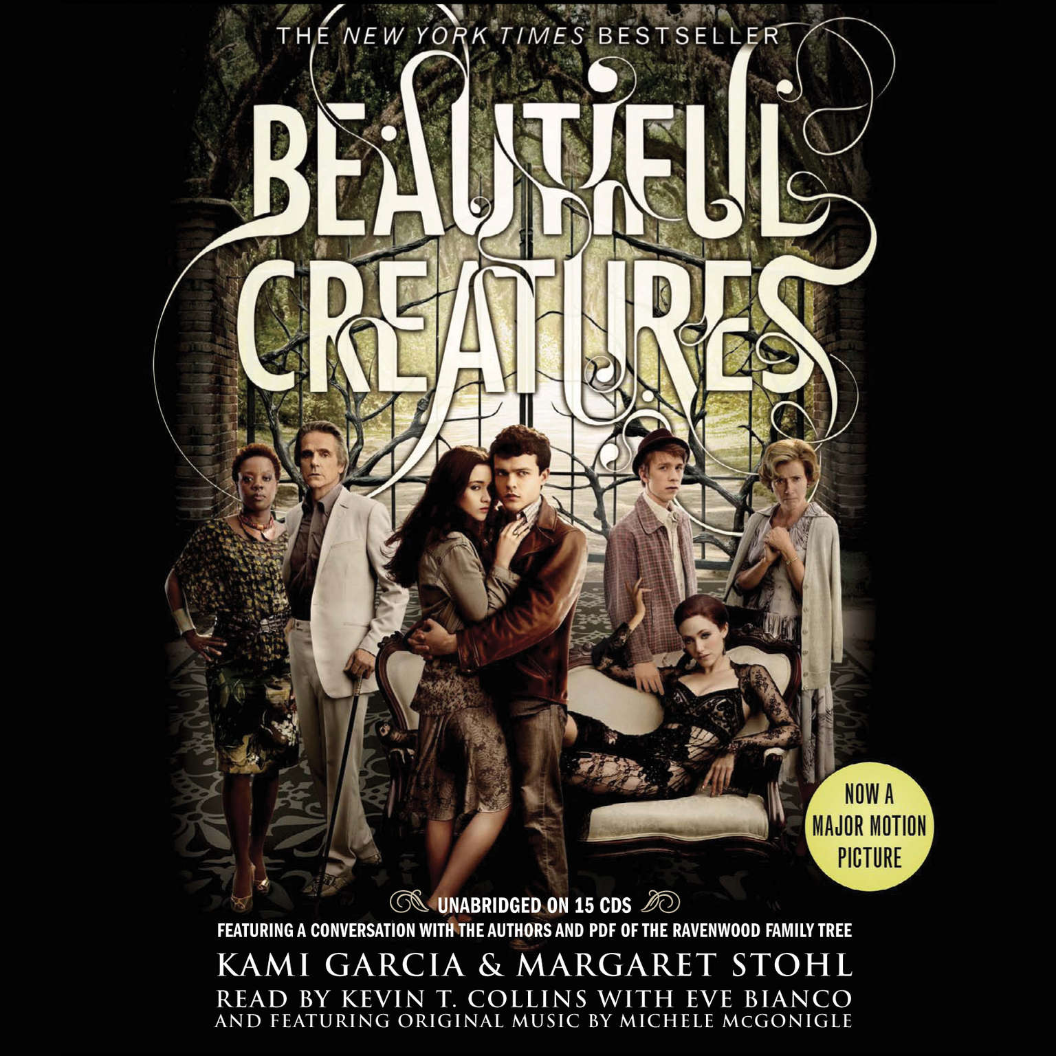 Printable Beautiful Creatures Audiobook Cover Art