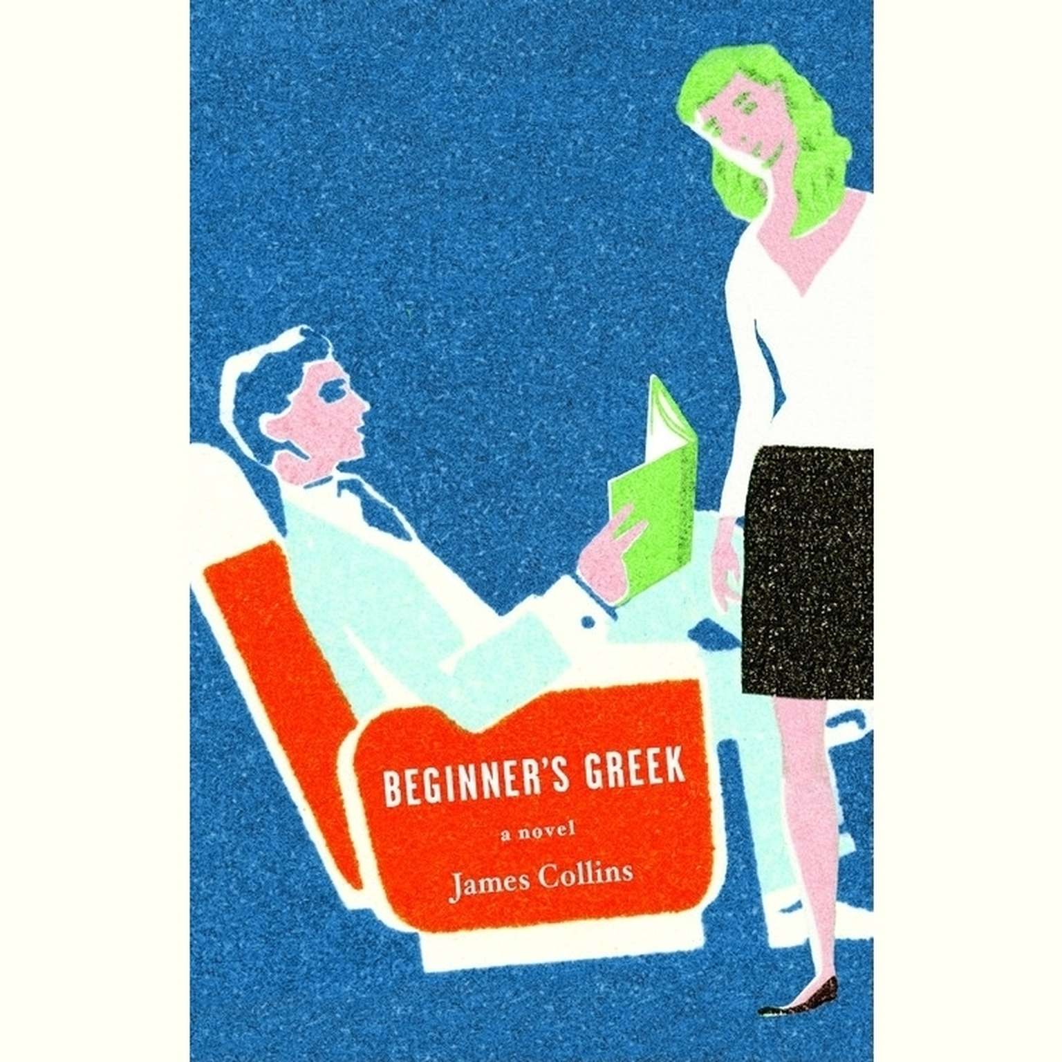Printable Beginner's Greek: A Novel Audiobook Cover Art