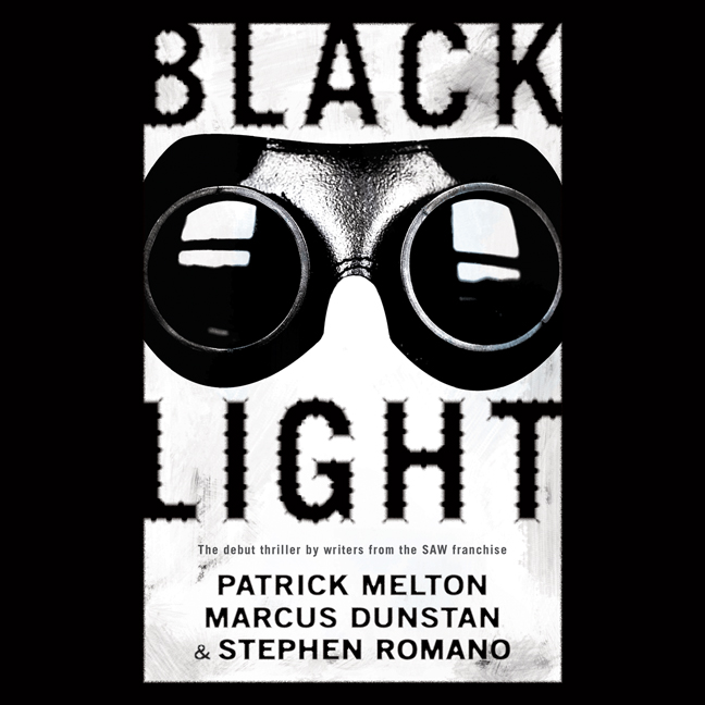 Printable Black Light Audiobook Cover Art