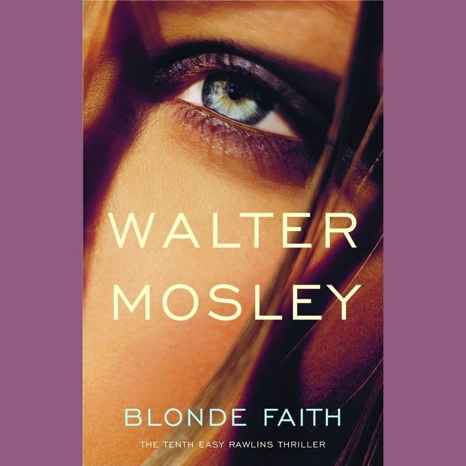 Printable Blonde Faith Audiobook Cover Art