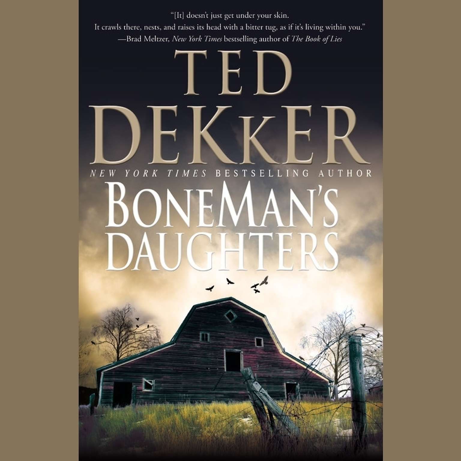 Printable BoneMan's Daughters Audiobook Cover Art