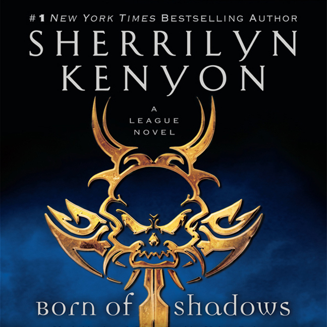 Printable Born of Shadows Audiobook Cover Art