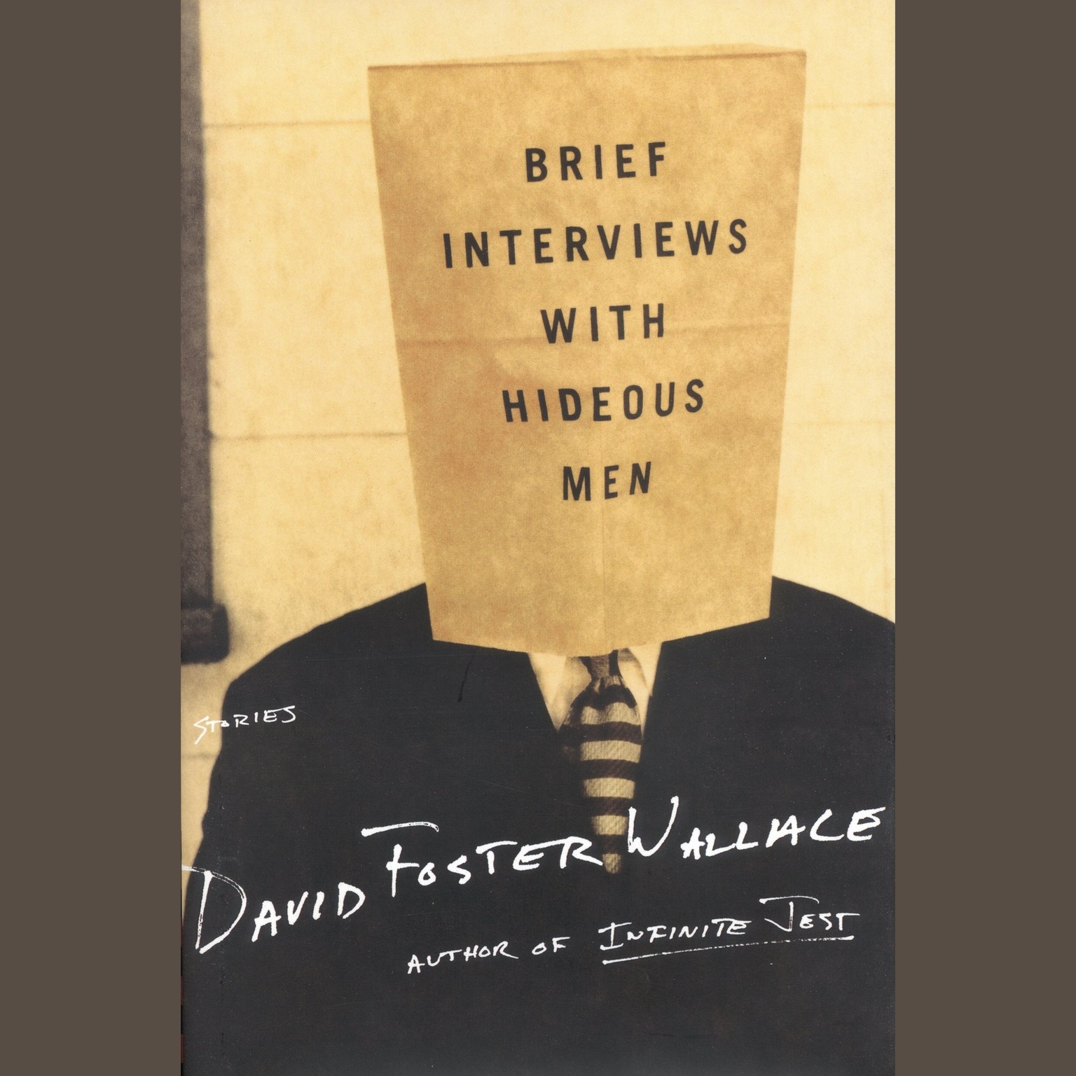 Printable Brief Interviews with Hideous Men Audiobook Cover Art