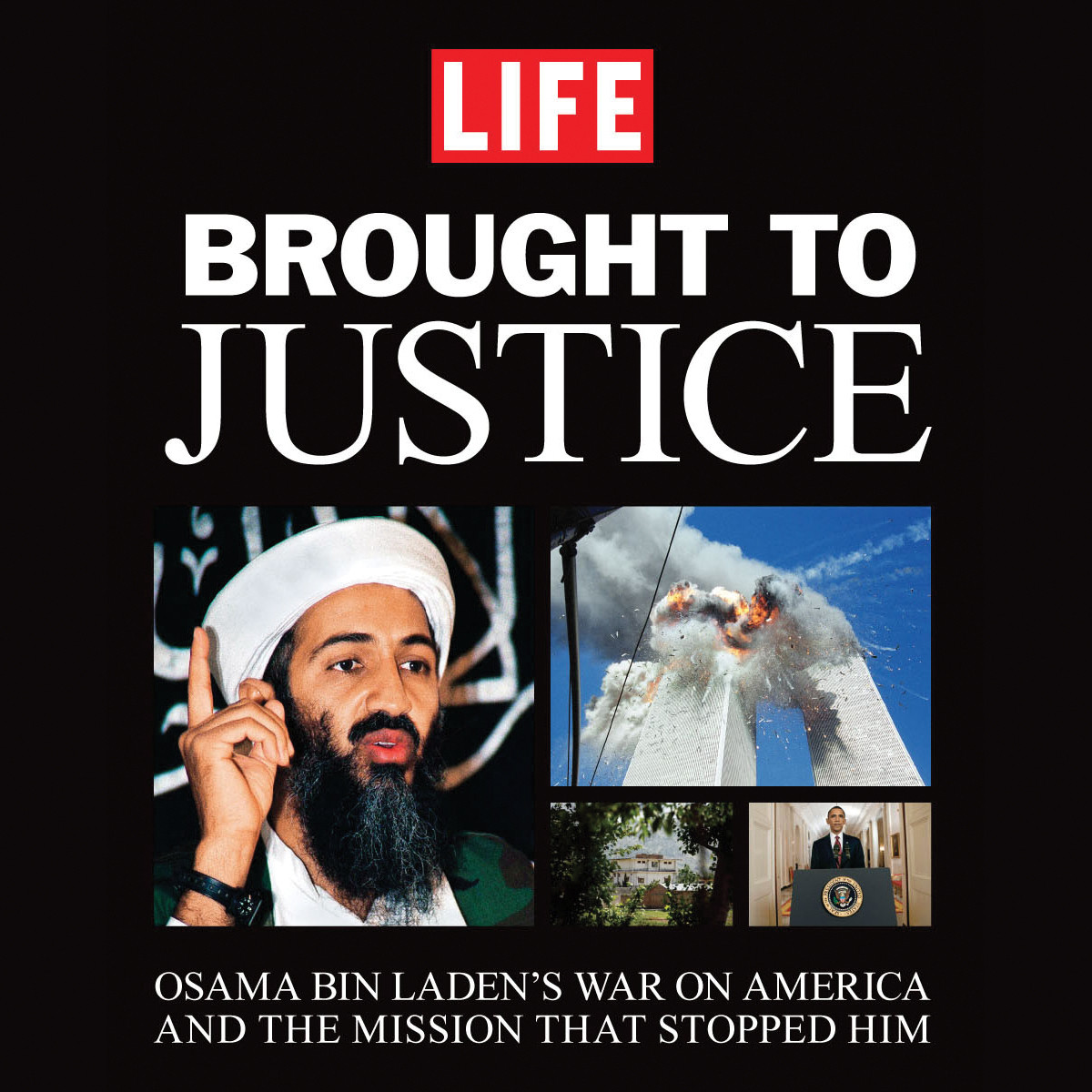 Printable Brought to Justice: Osama Bin Laden's War on America and the Mission that Stopped Him Audiobook Cover Art