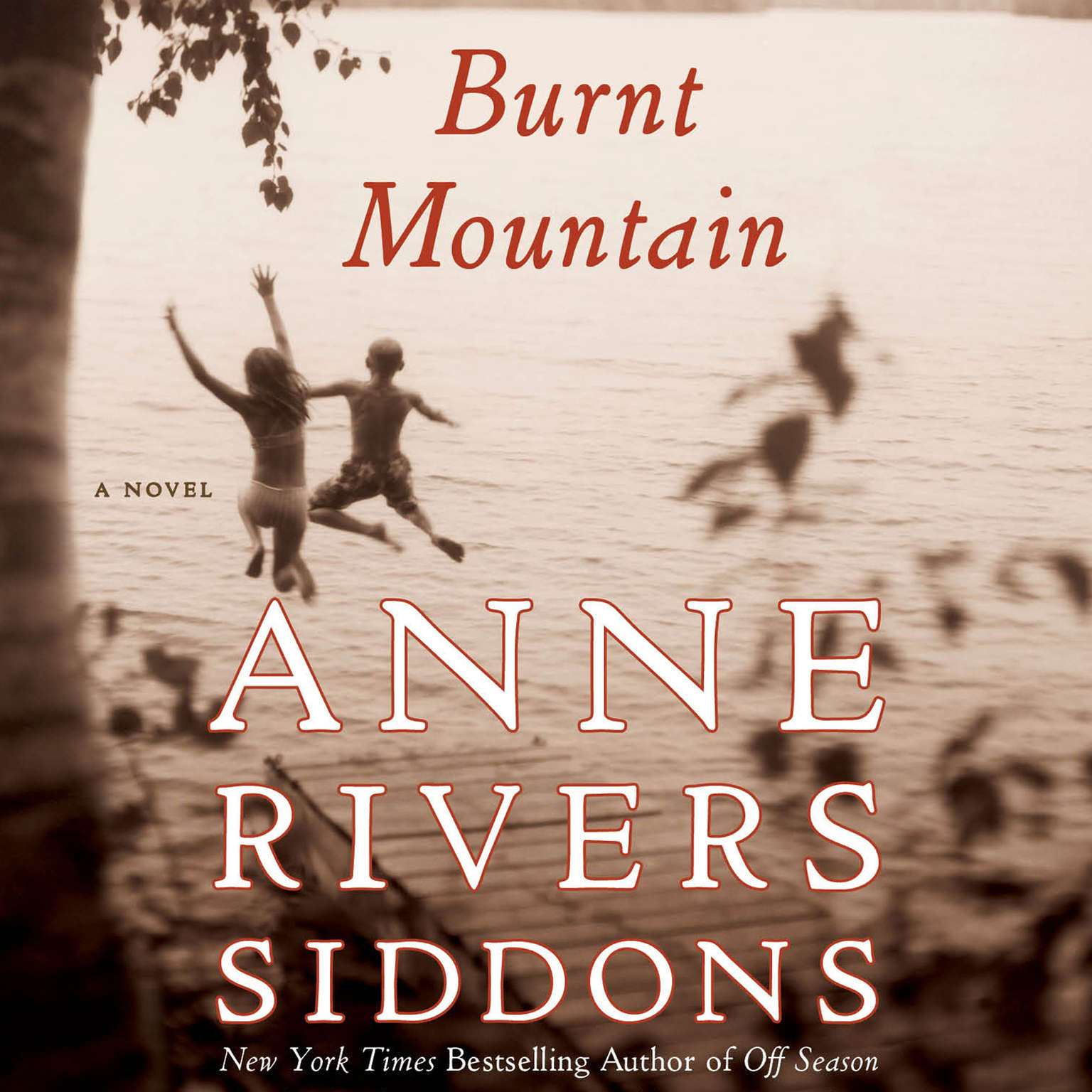 Printable Burnt Mountain Audiobook Cover Art