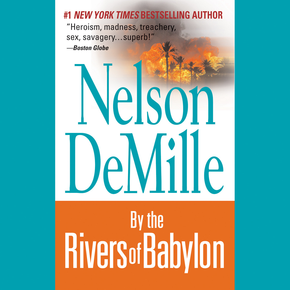 Printable By the Rivers of Babylon Audiobook Cover Art
