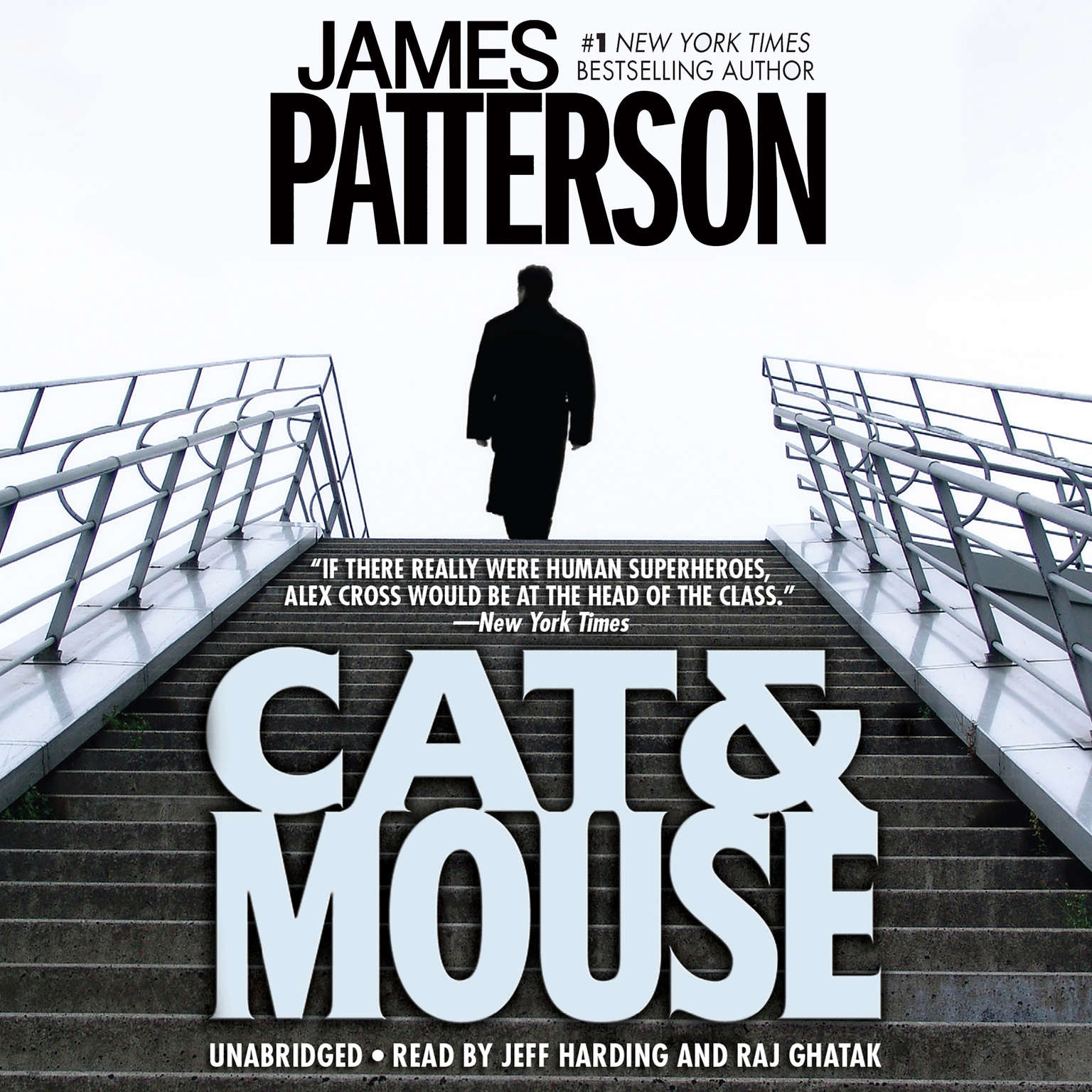 Printable Cat & Mouse Audiobook Cover Art