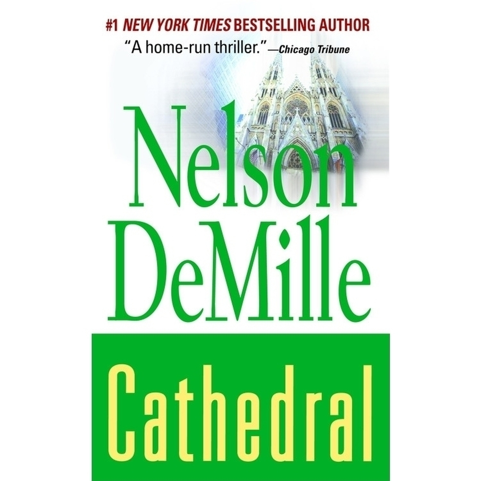 Printable Cathedral Audiobook Cover Art