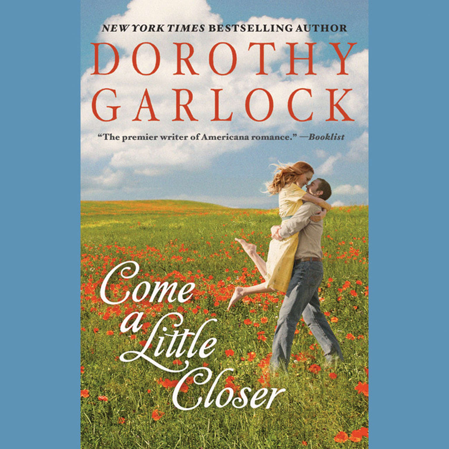 Printable Come a Little Closer Audiobook Cover Art