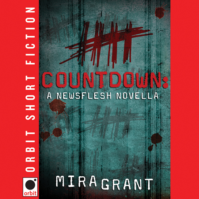 Printable Countdown: A Newsflesh Novella Audiobook Cover Art