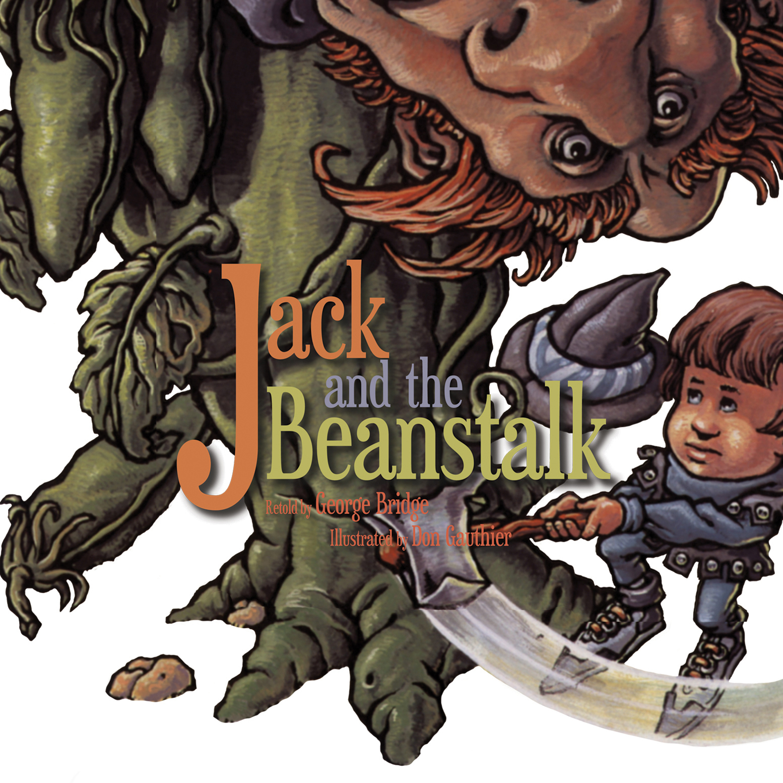 Printable Jack and the Beanstalk Audiobook Cover Art