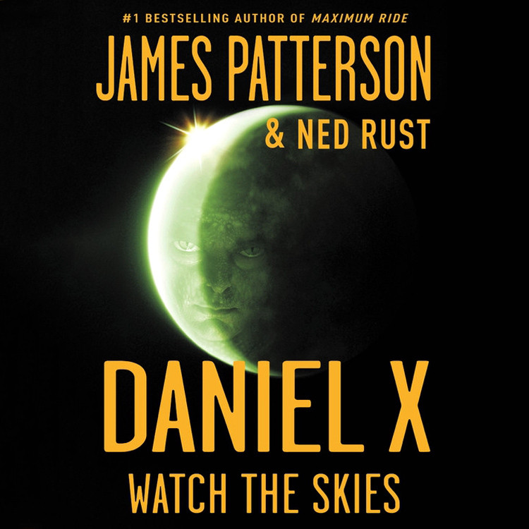 Printable Daniel X: Watch the Skies Audiobook Cover Art
