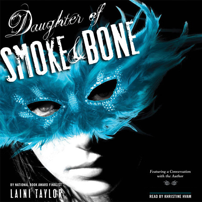 Printable Daughter of Smoke and Bone Audiobook Cover Art