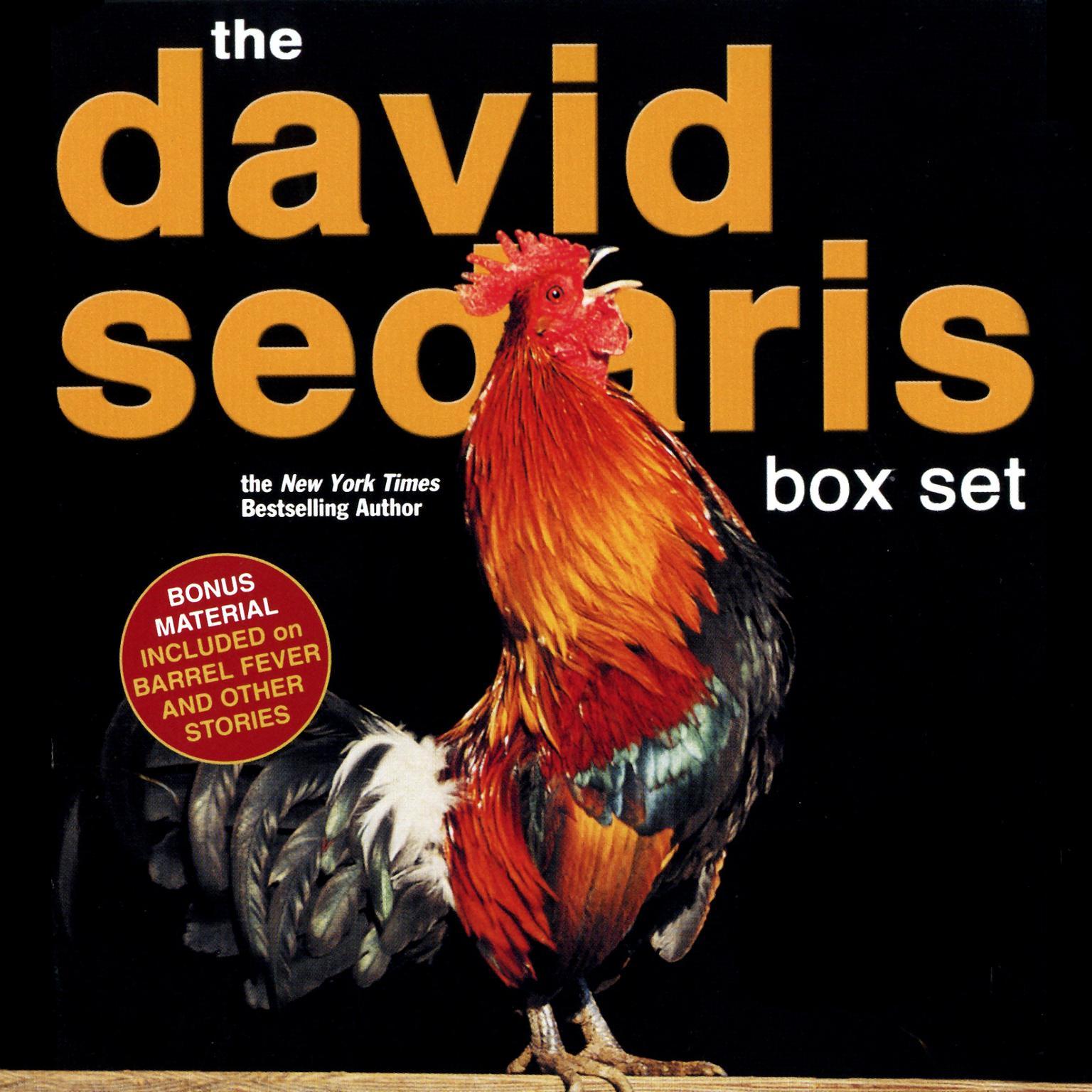 Printable David Sedaris Audiobook Cover Art