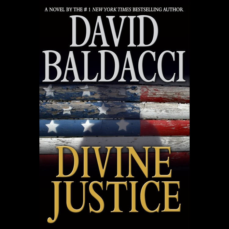 Printable Divine Justice Audiobook Cover Art