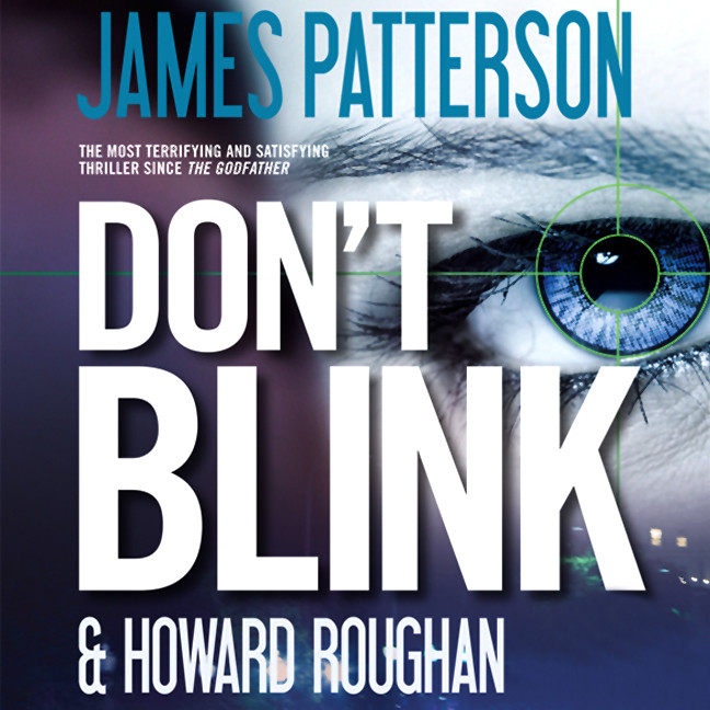 Printable Don't Blink Audiobook Cover Art