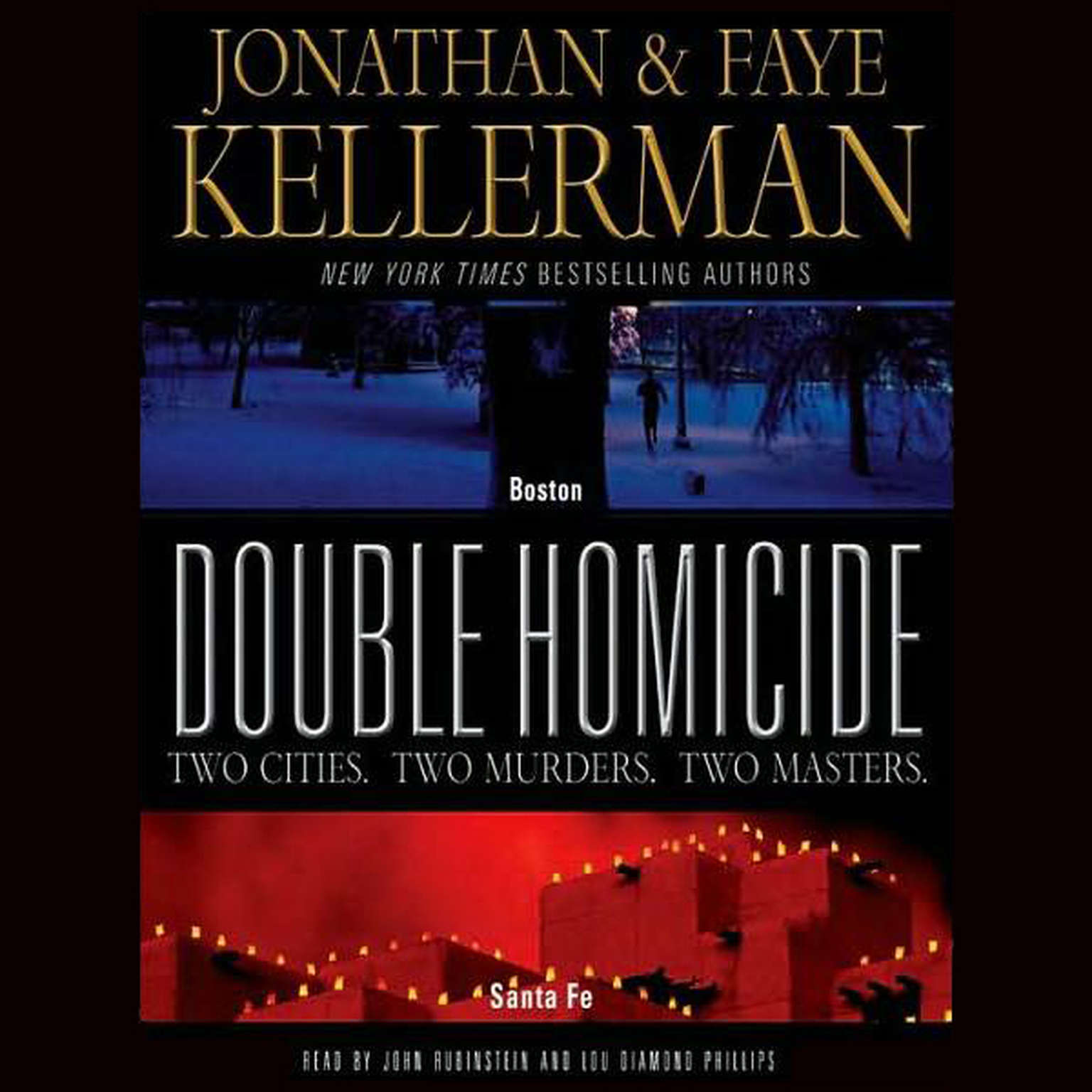 Printable Double Homicide Audiobook Cover Art