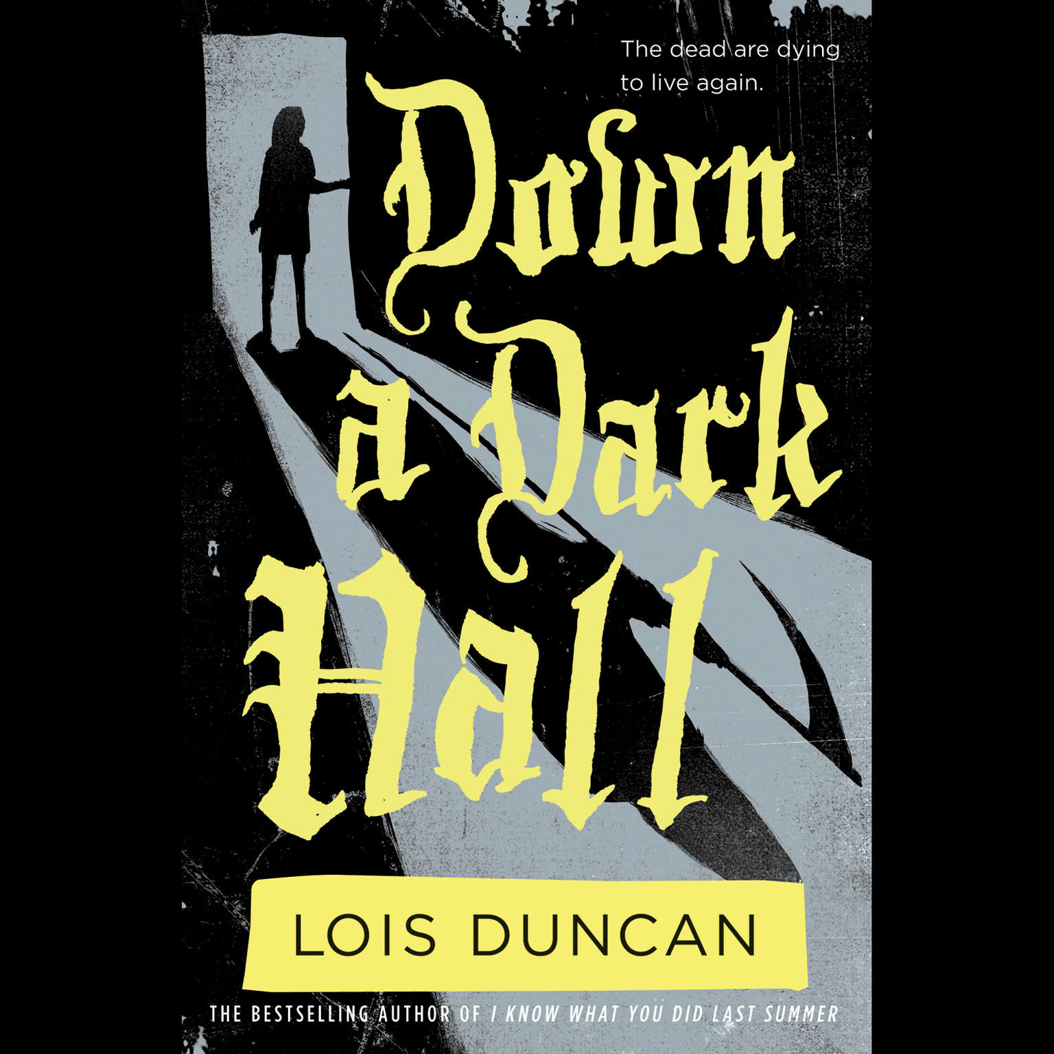 Printable Down a Dark Hall Audiobook Cover Art