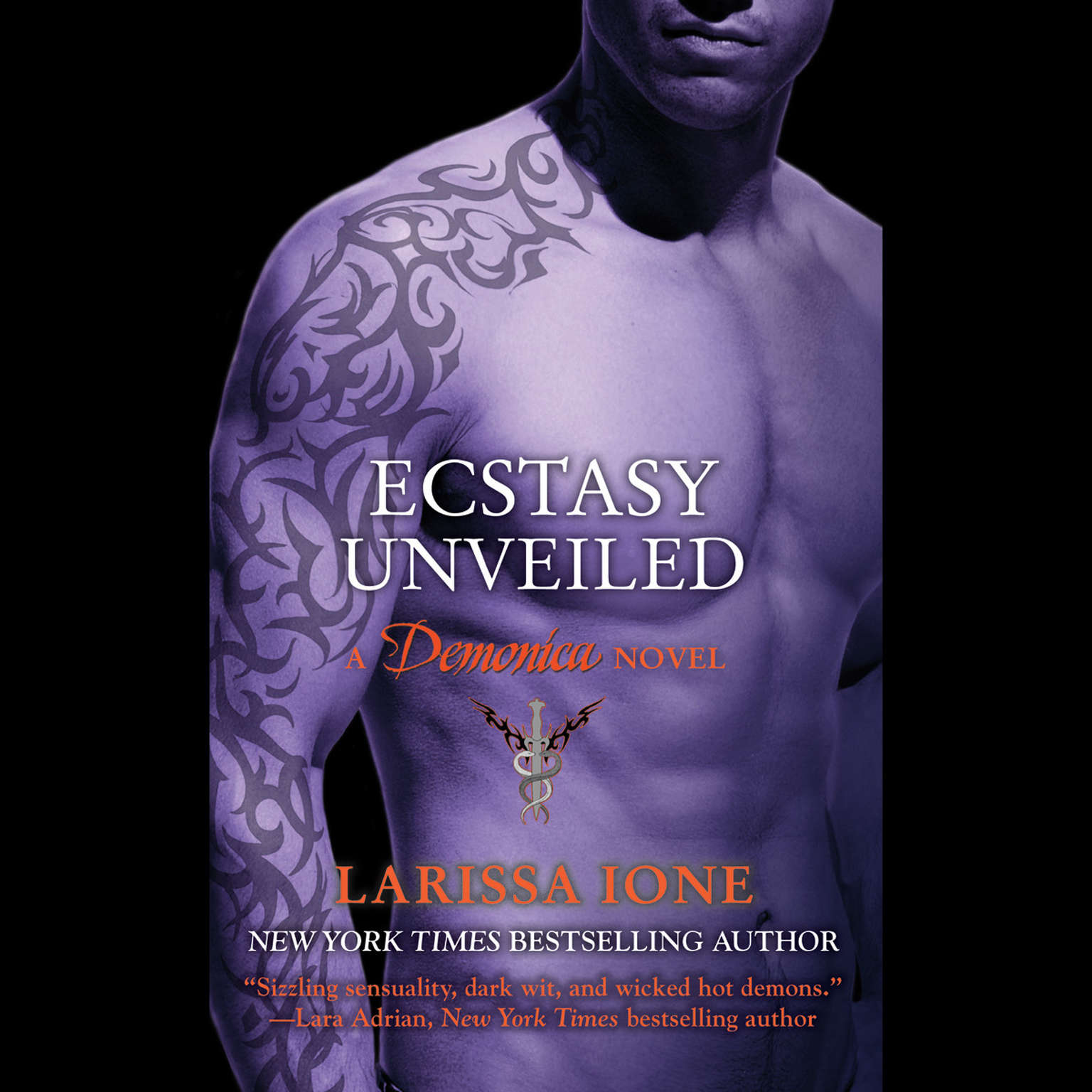 Printable Ecstasy Unveiled Audiobook Cover Art