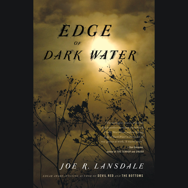 Printable Edge of Dark Water Audiobook Cover Art