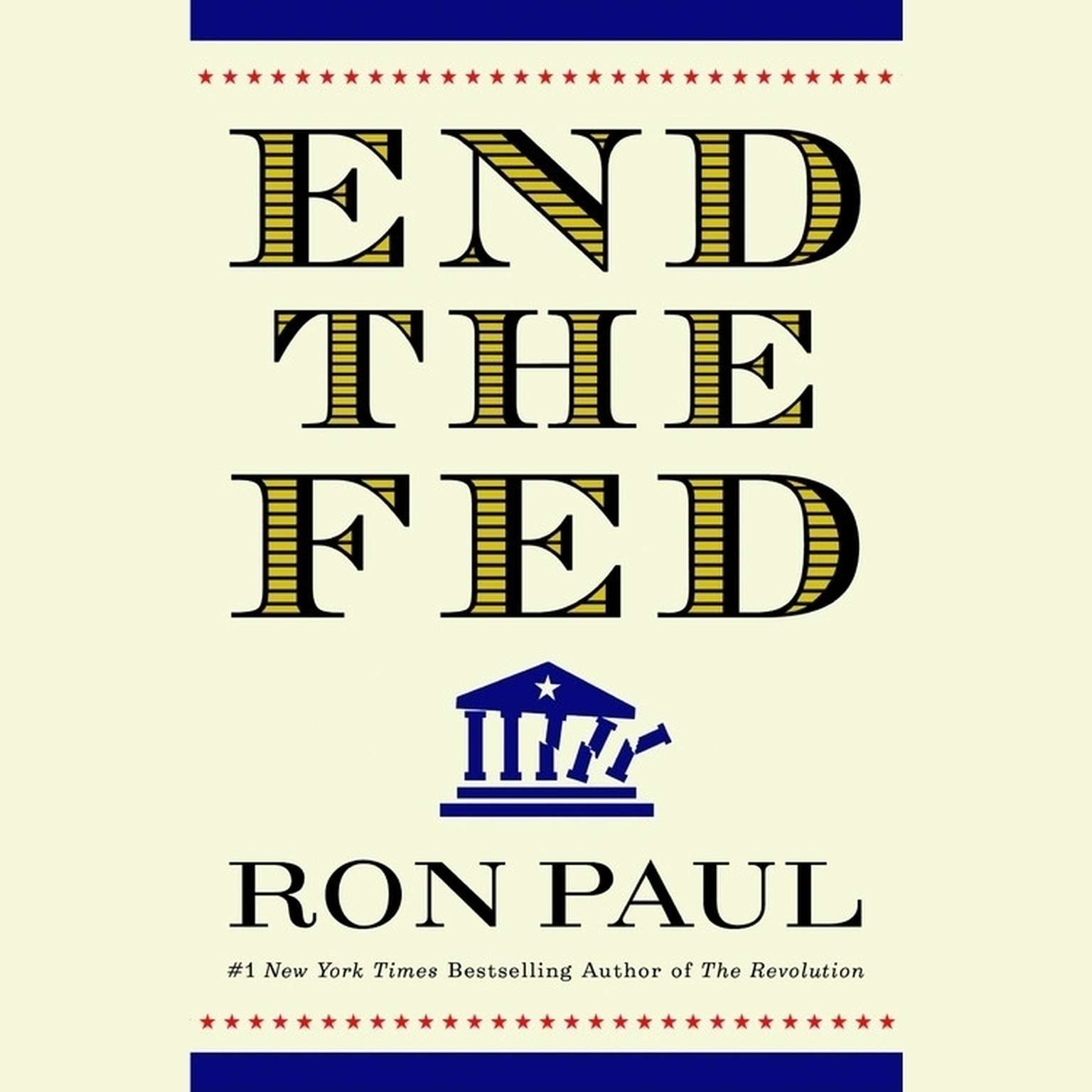 Printable End the Fed Audiobook Cover Art