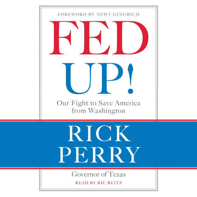 Printable Fed Up!: Our Fight to Save America from Washington Audiobook Cover Art