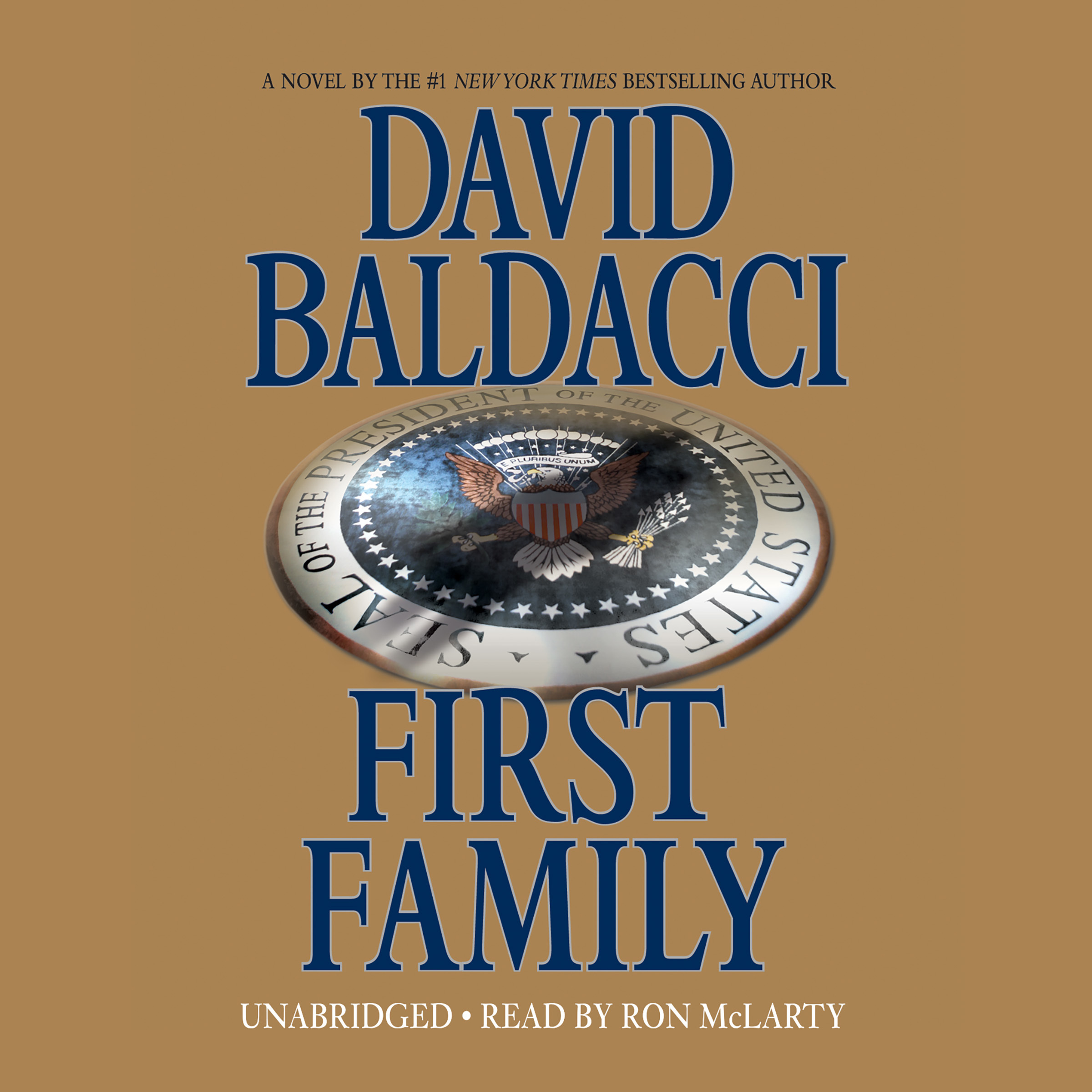 Printable First Family Audiobook Cover Art