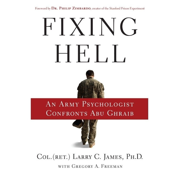 Printable Fixing Hell: An Army Psychologist Confronts Abu Ghraib Audiobook Cover Art