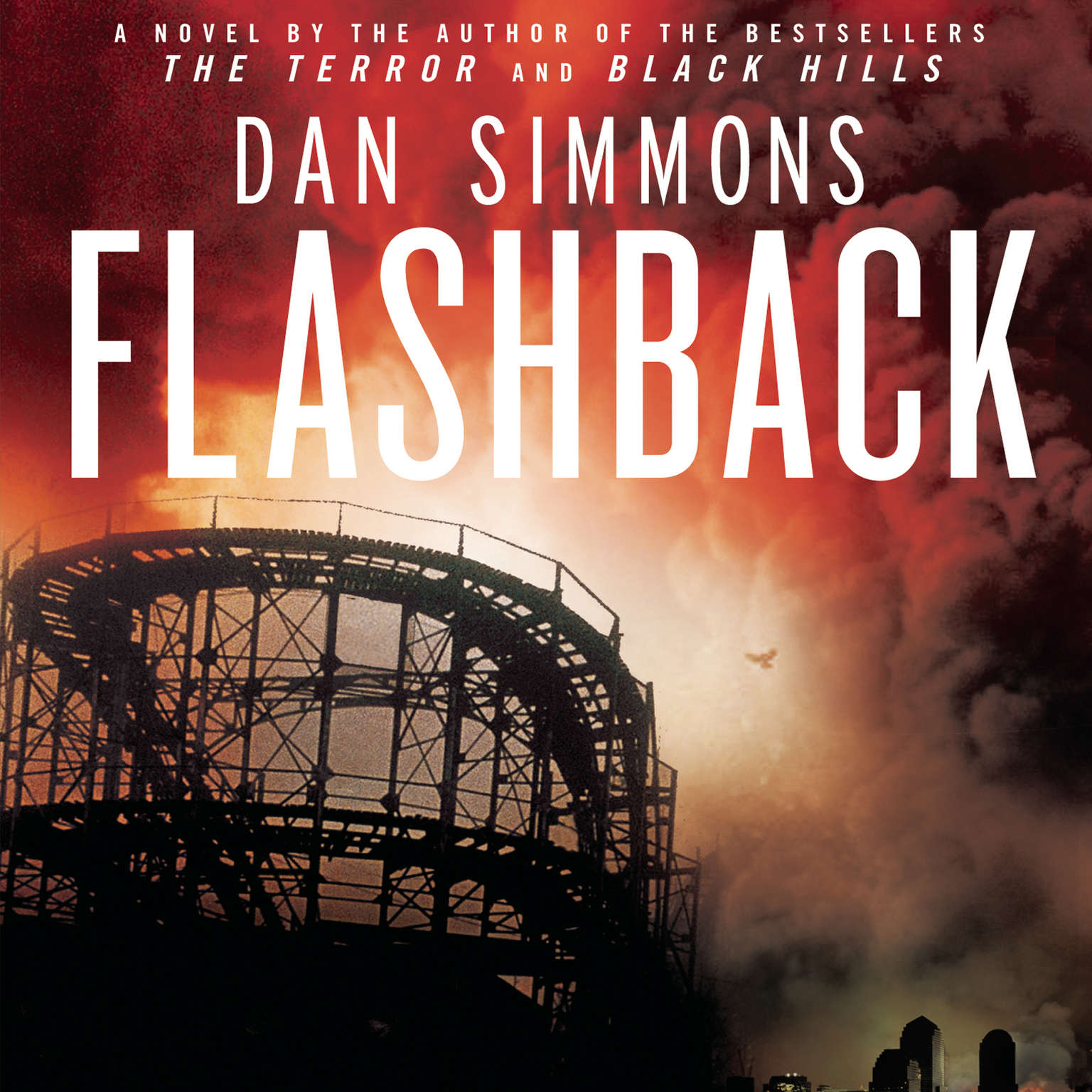 Printable Flashback Audiobook Cover Art