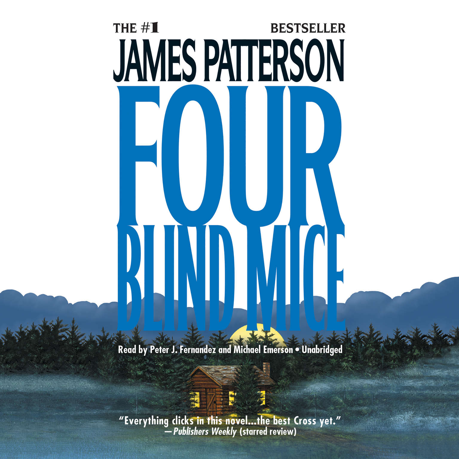 Printable Four Blind Mice Audiobook Cover Art
