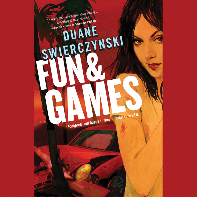 Printable Fun and Games Audiobook Cover Art