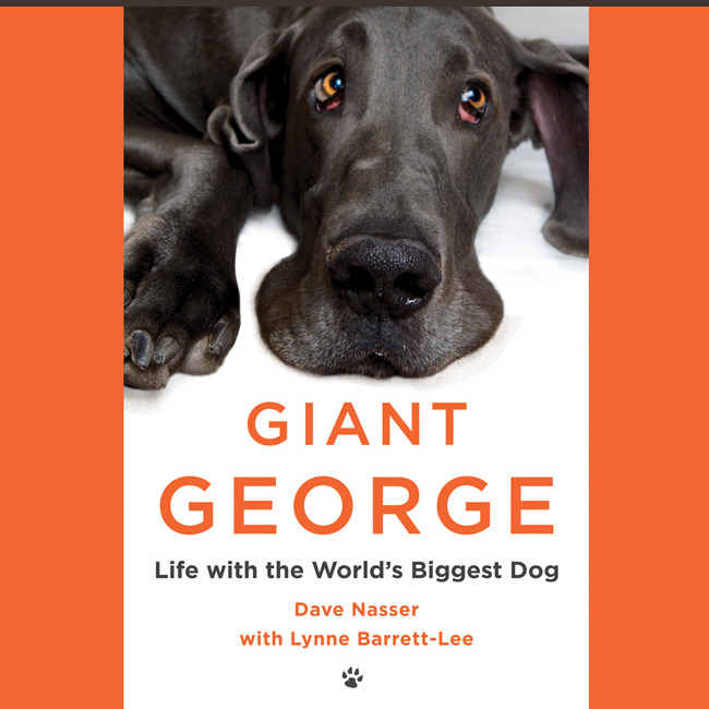 Printable Giant George: Life with the World's Biggest Dog Audiobook Cover Art