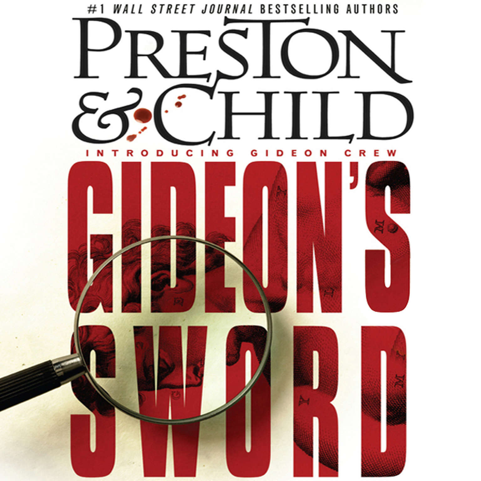 Printable Gideon's Sword Audiobook Cover Art