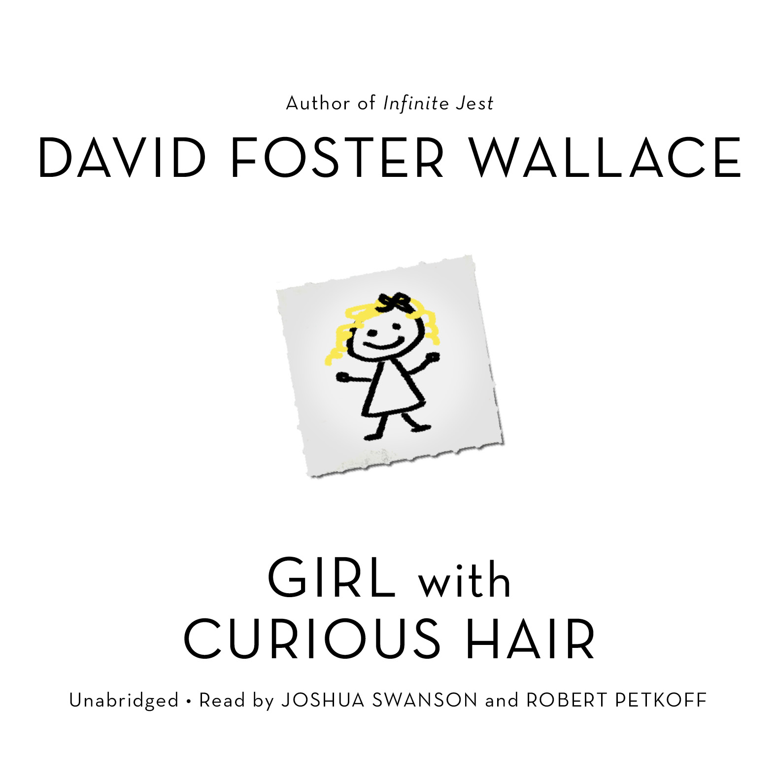 Printable Girl with Curious Hair: Stories Audiobook Cover Art