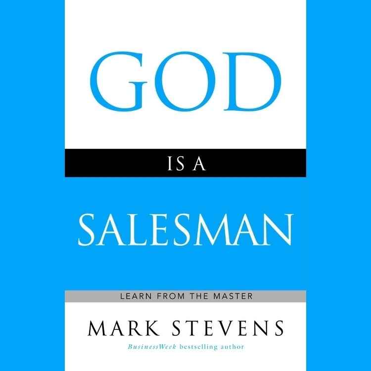Printable God Is a Salesman: Learn from the Master Audiobook Cover Art