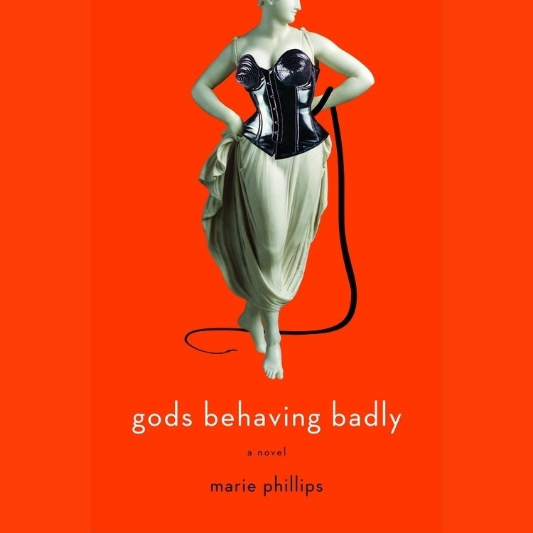 Printable Gods Behaving Badly: A Novel Audiobook Cover Art