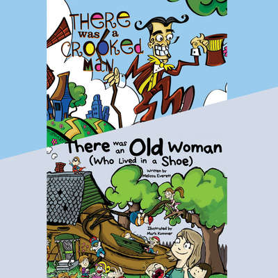 There Was an Old Woman (Who Lived in a Shoe) & There Was a Crooked Man Audiobook, by Melissa Everett