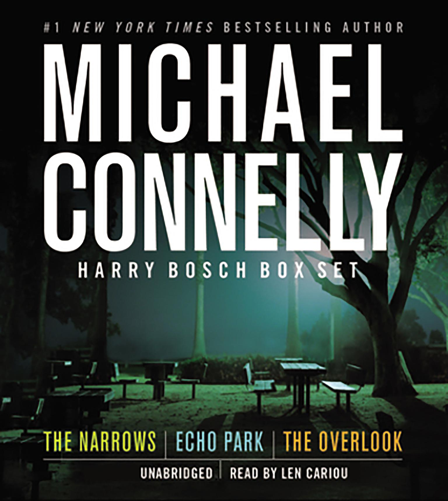Printable Harry Bosch Box Set Audiobook Cover Art