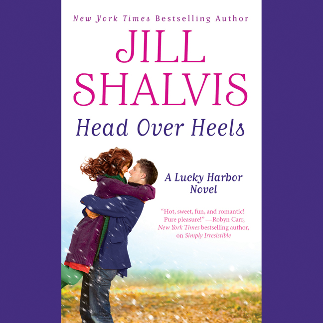 Printable Head Over Heels Audiobook Cover Art
