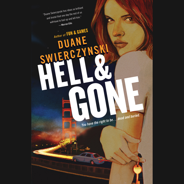 Printable Hell and Gone Audiobook Cover Art