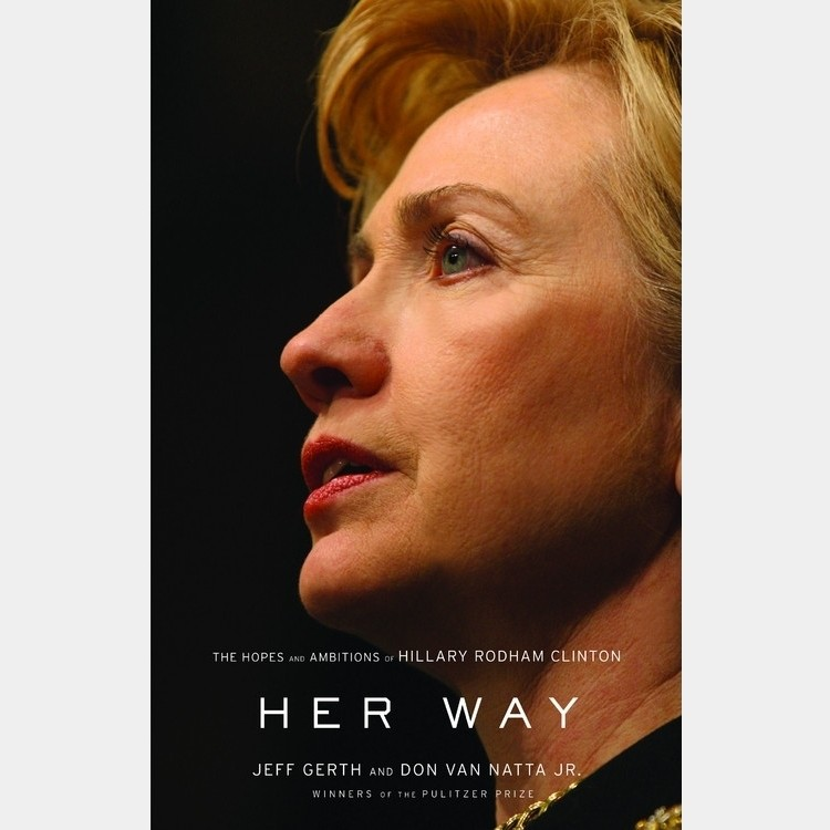 Printable Her Way: The Hopes and Ambitions of Hillary Rodham Clinton Audiobook Cover Art
