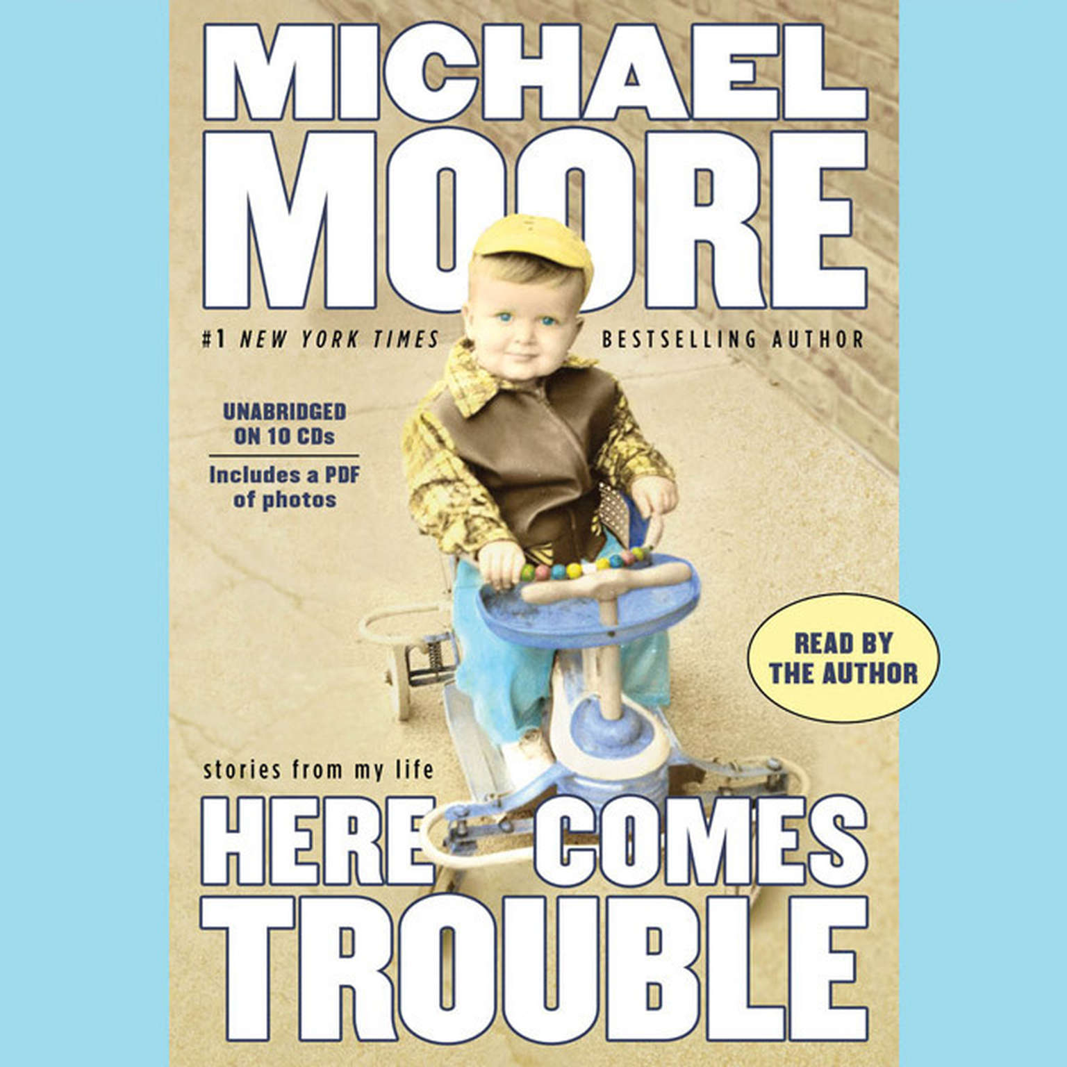 Printable Here Comes Trouble: Stories from My Life Audiobook Cover Art