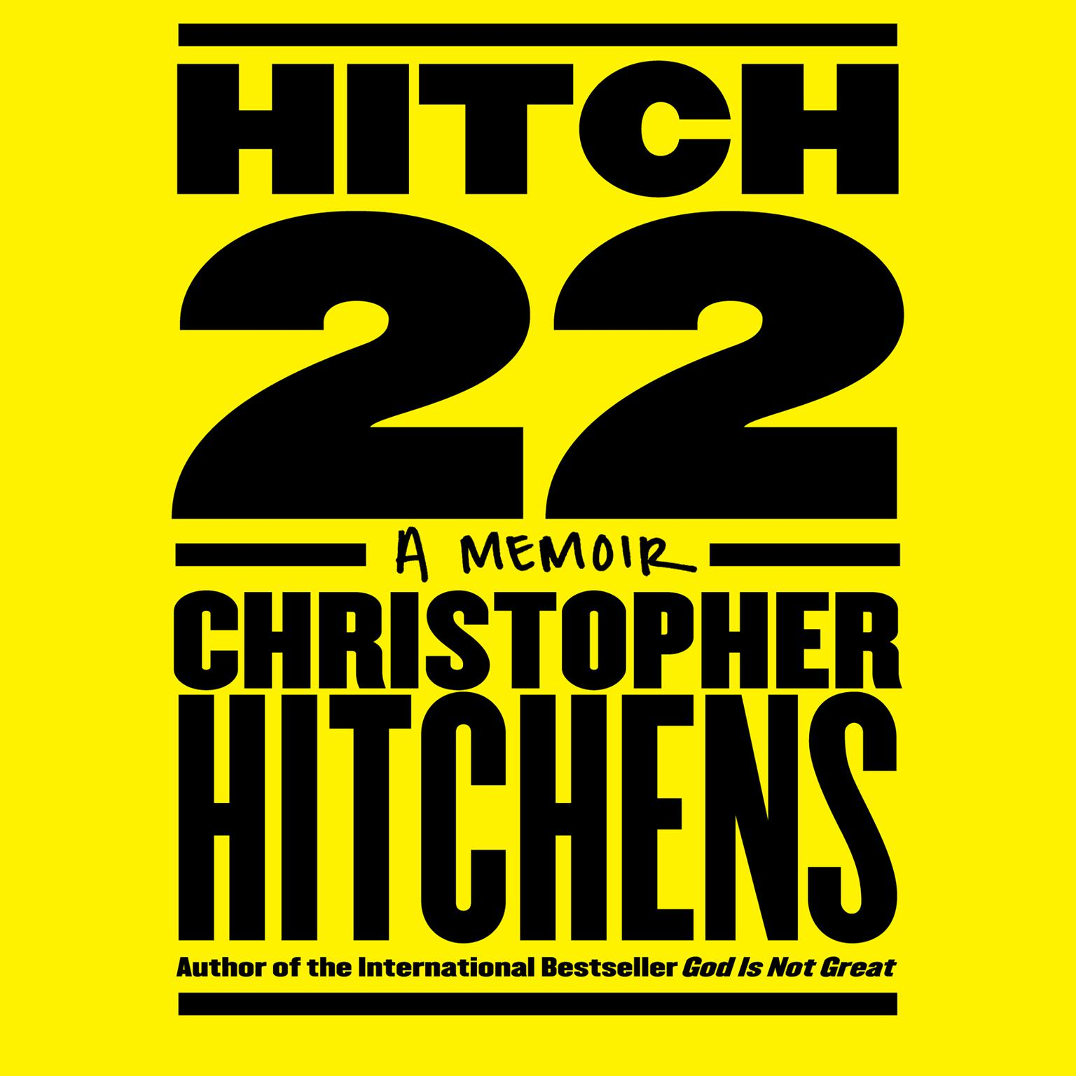 Printable Hitch-22: A Memoir Audiobook Cover Art