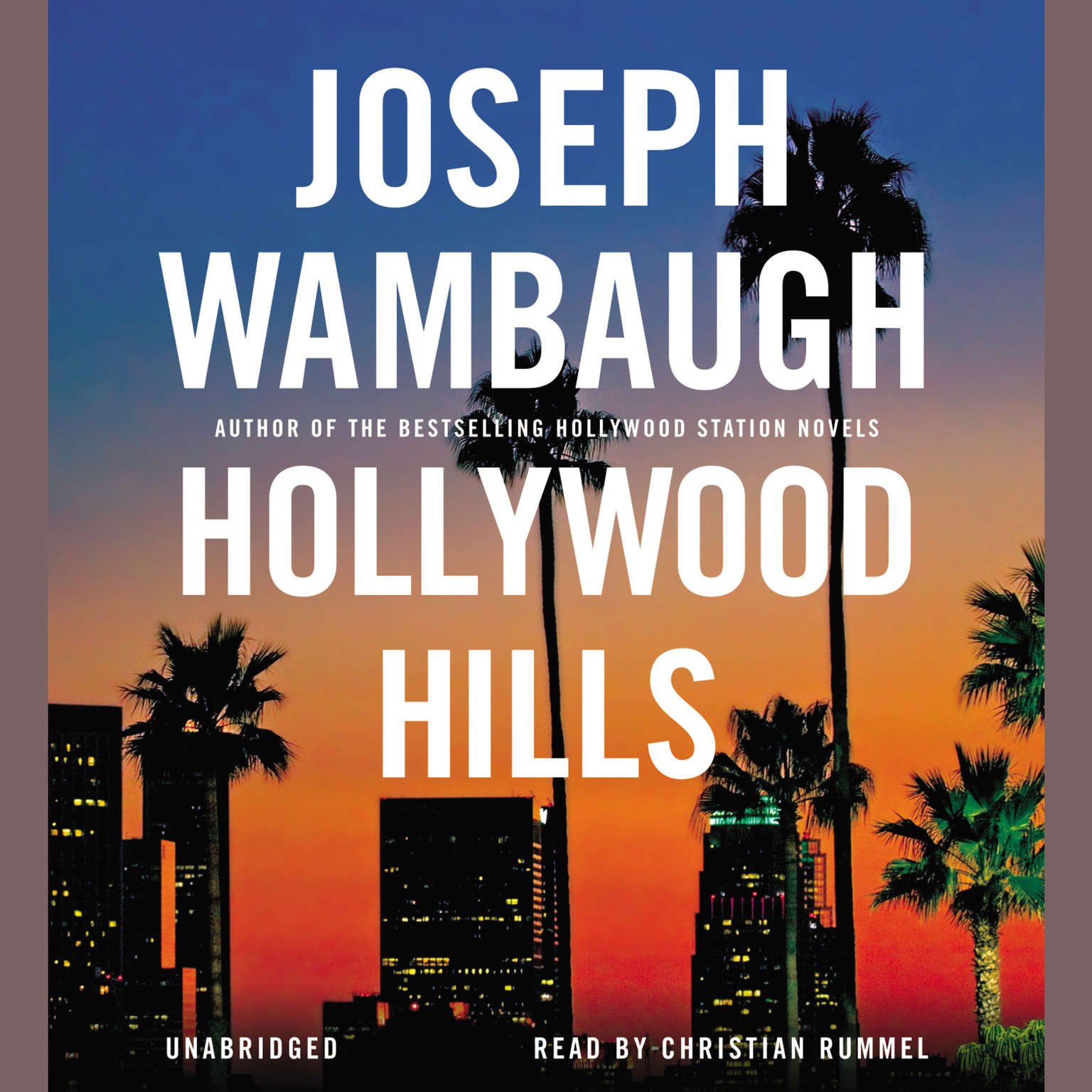 Printable Hollywood Hills: A Novel Audiobook Cover Art
