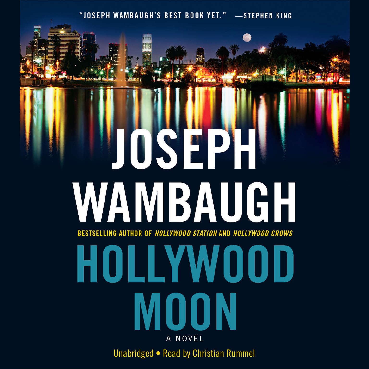 Printable Hollywood Moon: A Novel Audiobook Cover Art