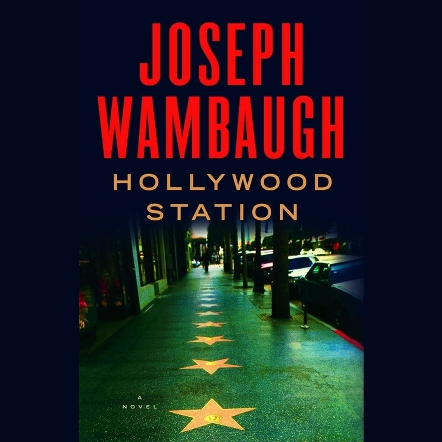 Printable Hollywood Station Audiobook Cover Art