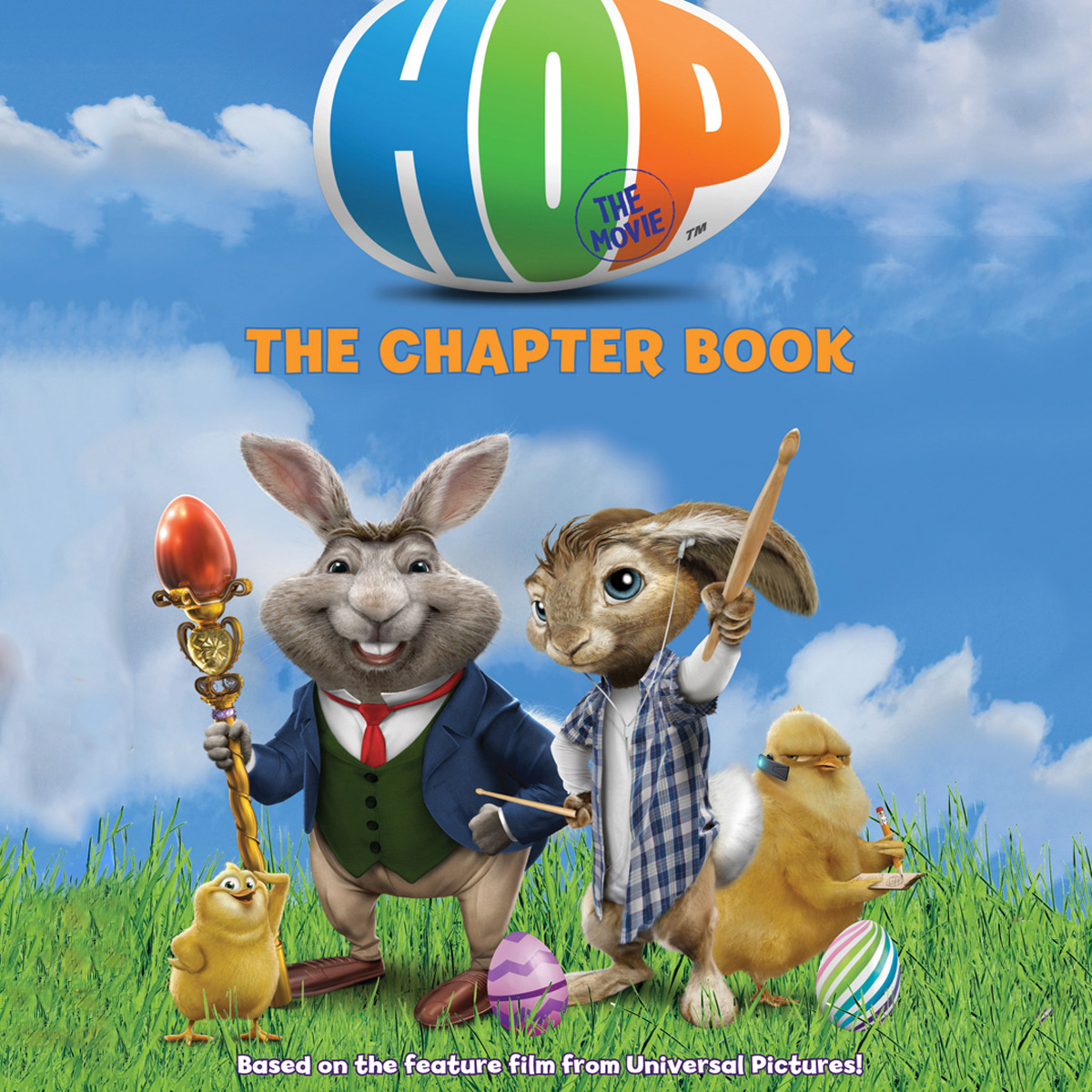 Printable Hop: The Chapter Book Audiobook Cover Art