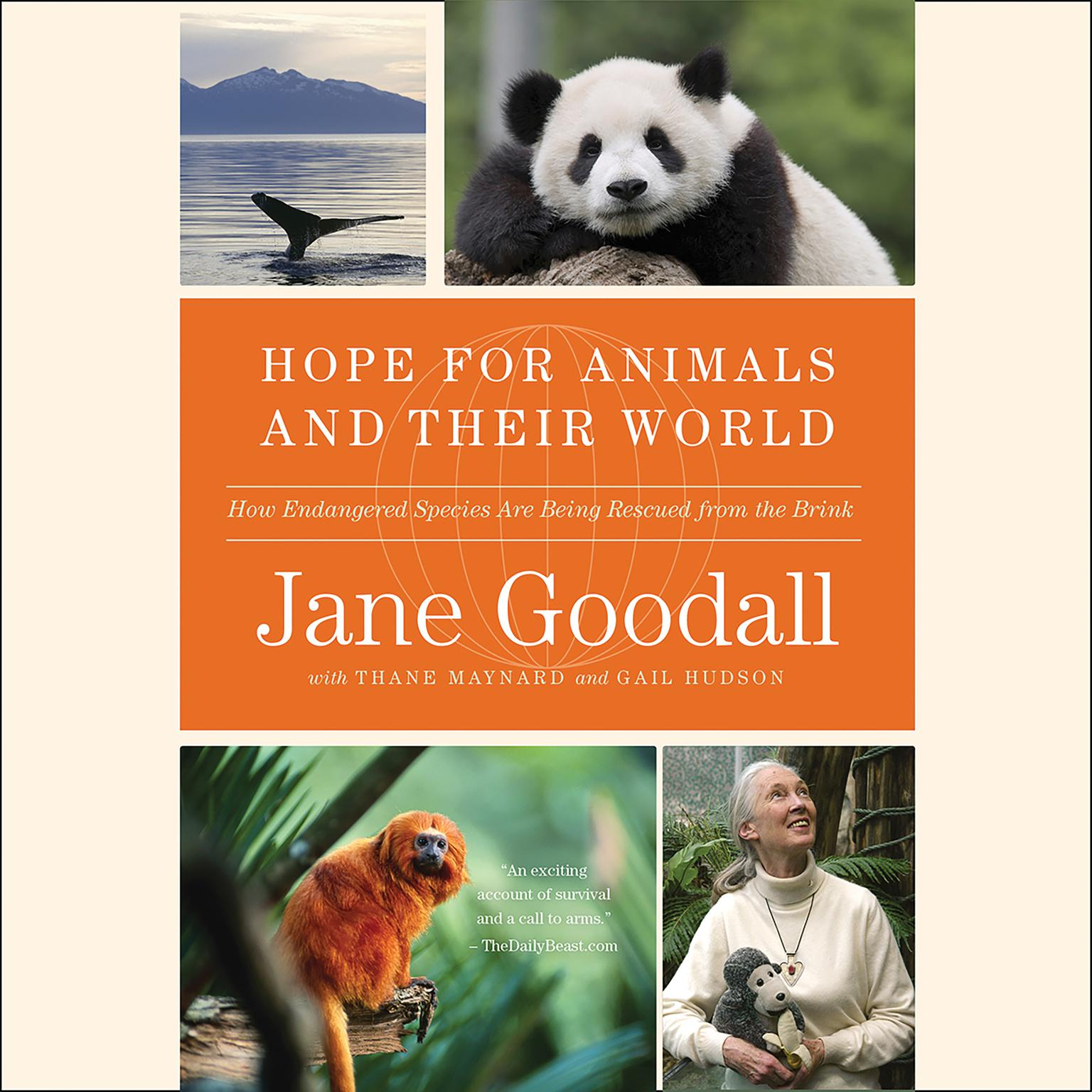 Printable Hope for Animals and Their World: How Endangered Species Are Being Rescued from the Brink Audiobook Cover Art
