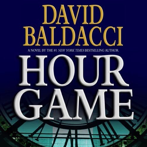 Printable Hour Game Audiobook Cover Art