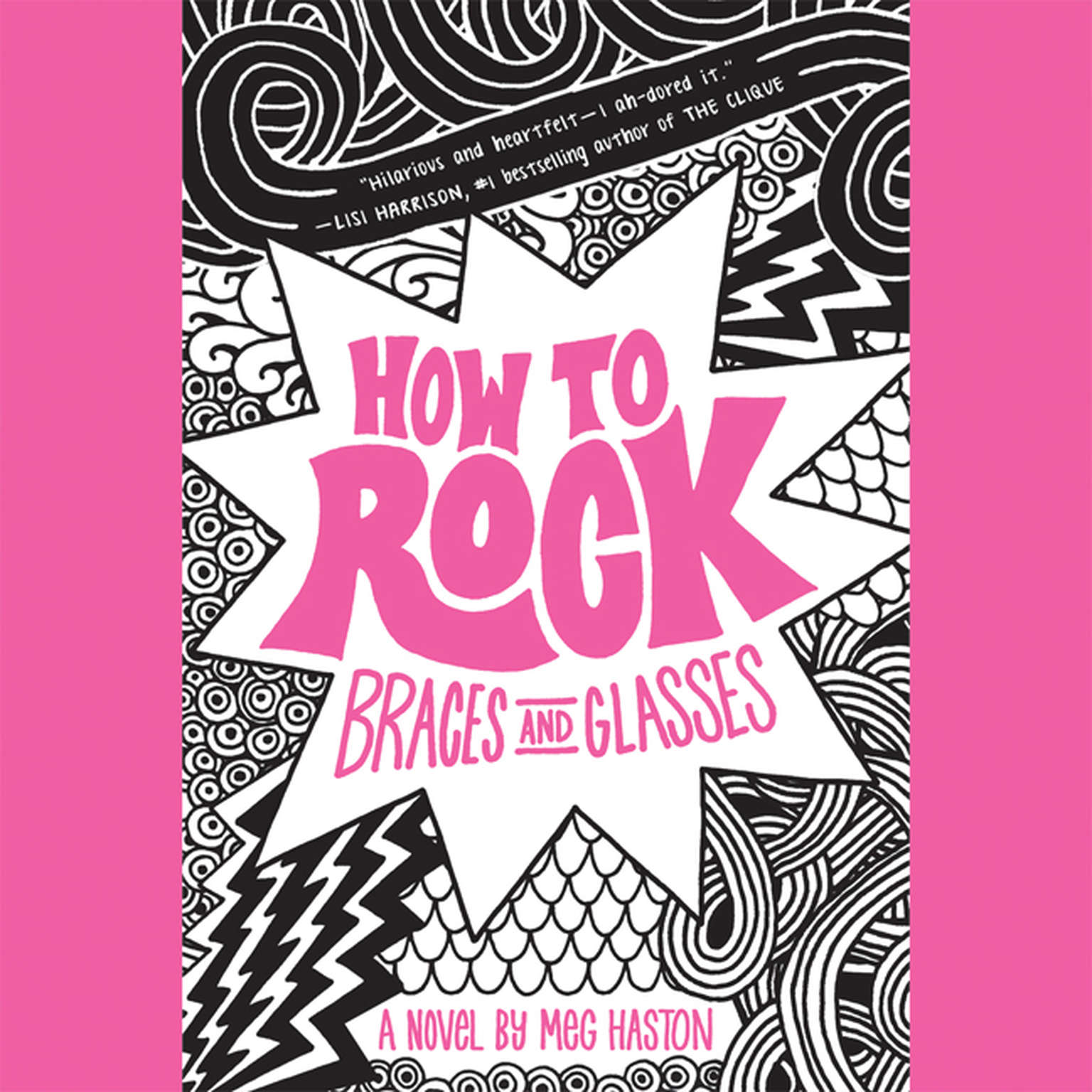 Printable How to Rock Braces and Glasses Audiobook Cover Art